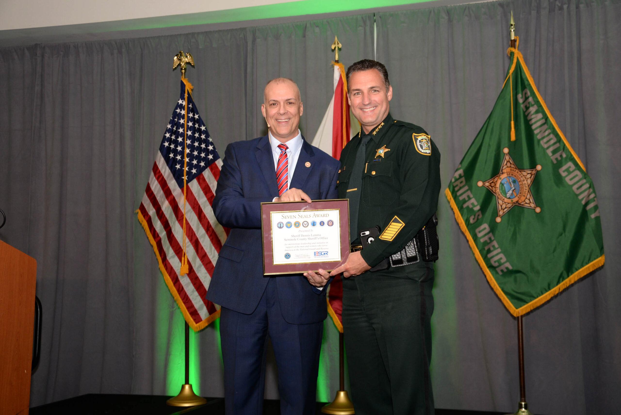 James Dicks and Seminole County Sheriff Lemma